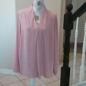 Attention Brand Sheer Blouse